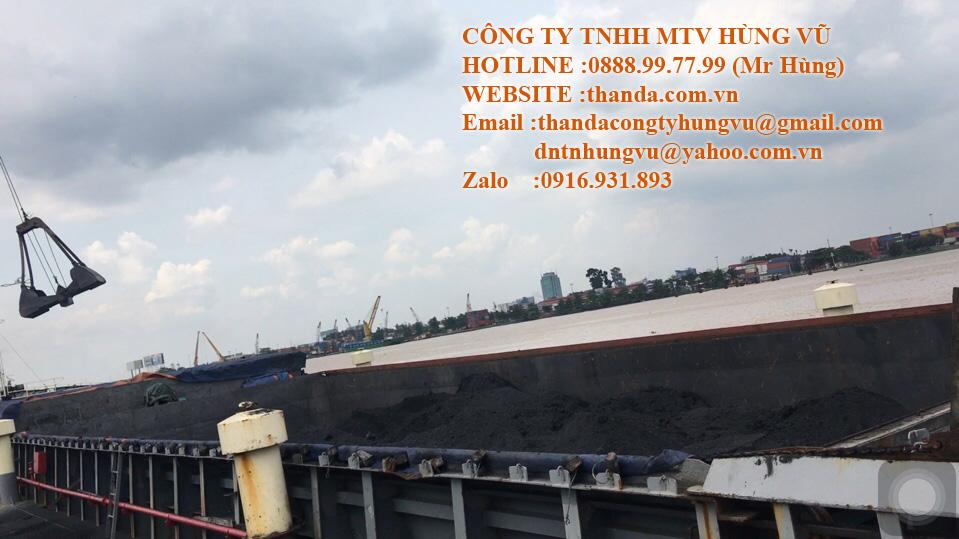 Công ty đang nhập than đá tại cảng Long Bình Đồng Nai
